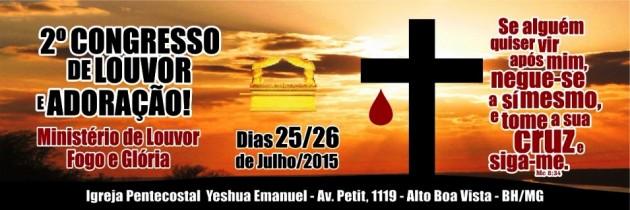 2° Congresso de Louvor e Adoração!